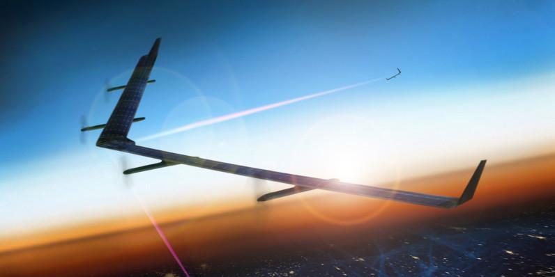 Facebook Aquila, il drone che porterà internet spicca il volo