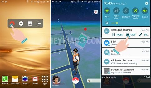 Cara Merekam Pokemon Go Jadi Video