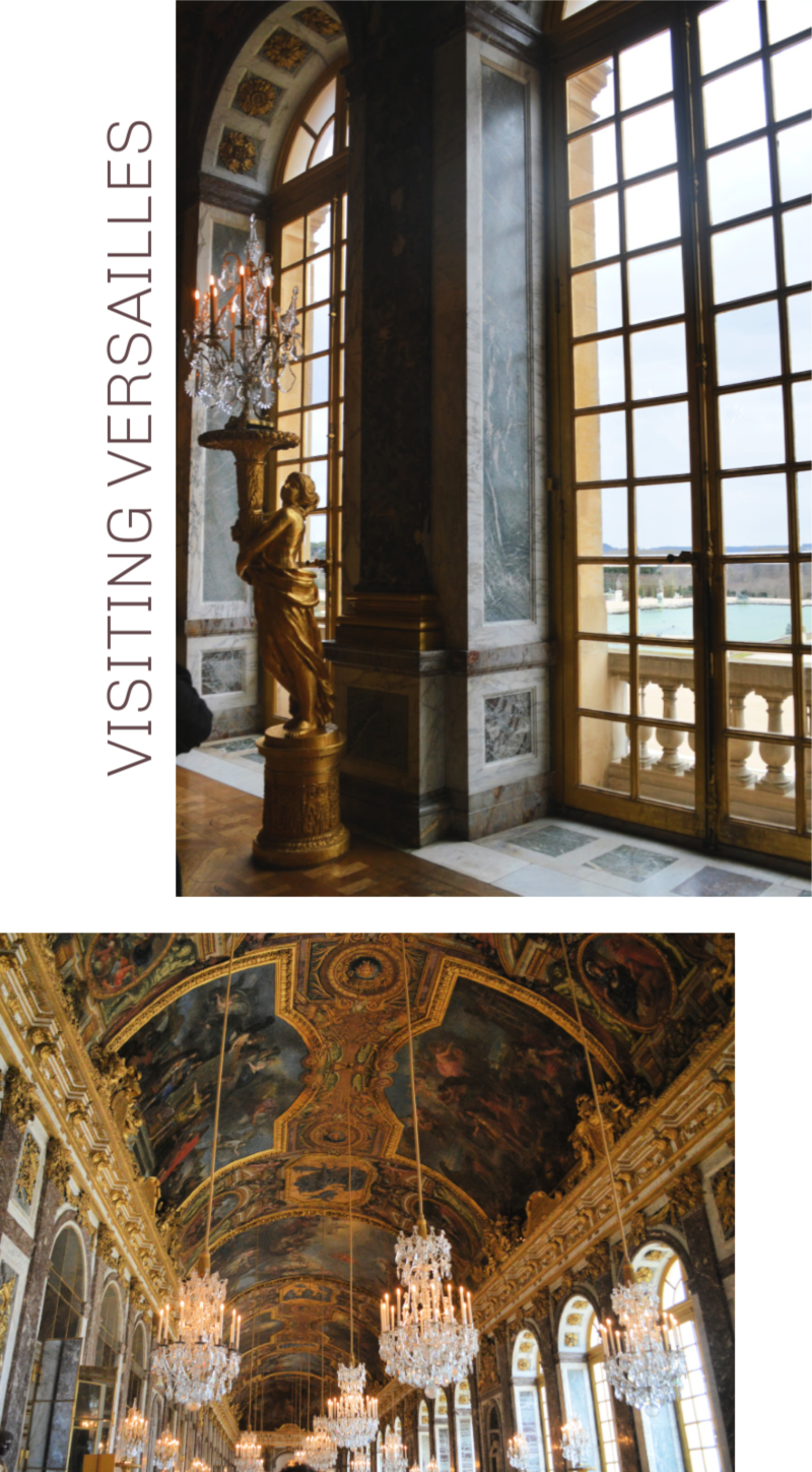 Visiting Versailles | Organized Mess