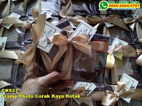 Harga Frame Photo Corak Kayu Kotak