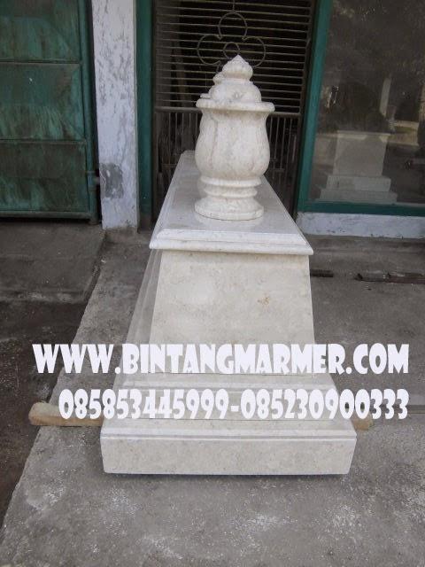 Batu Makam Marmer Mataram