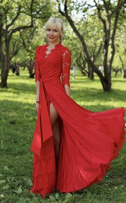 Vestidos con Encaje Largos