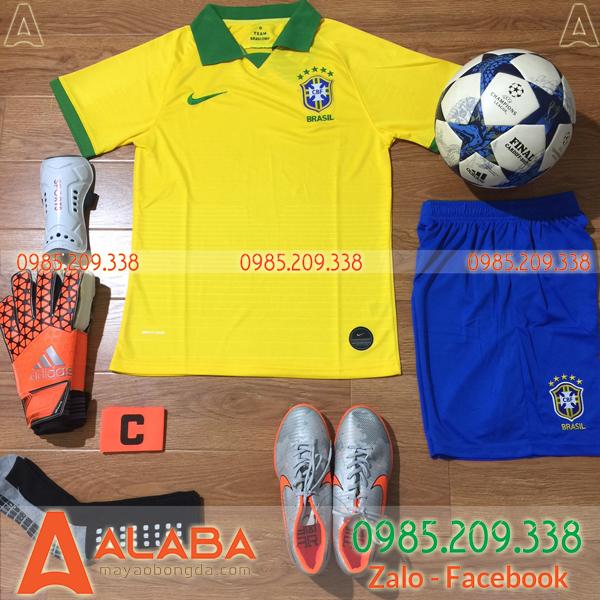 Áo Đội Tuyển Brazil 2019 Màu Vàng