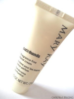 Mary Kay Satin Hands fragrance-free hand cream