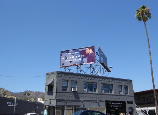 Shooter TV series billboard