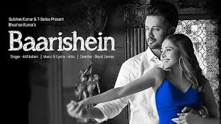 Baarishein Lyrics | Atif Aslam | Arko | Nushrat Bharucha