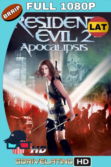 Resident Evil 2: Apocalipsis (2004) BRRip 1080p Latino-Ingles MKV