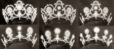 Queen Margherita Italy Savoy Musy Pearl Tiara Marie Jose