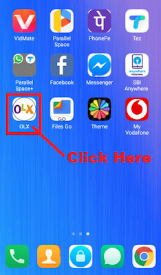 how to change olx account login password in olx app
