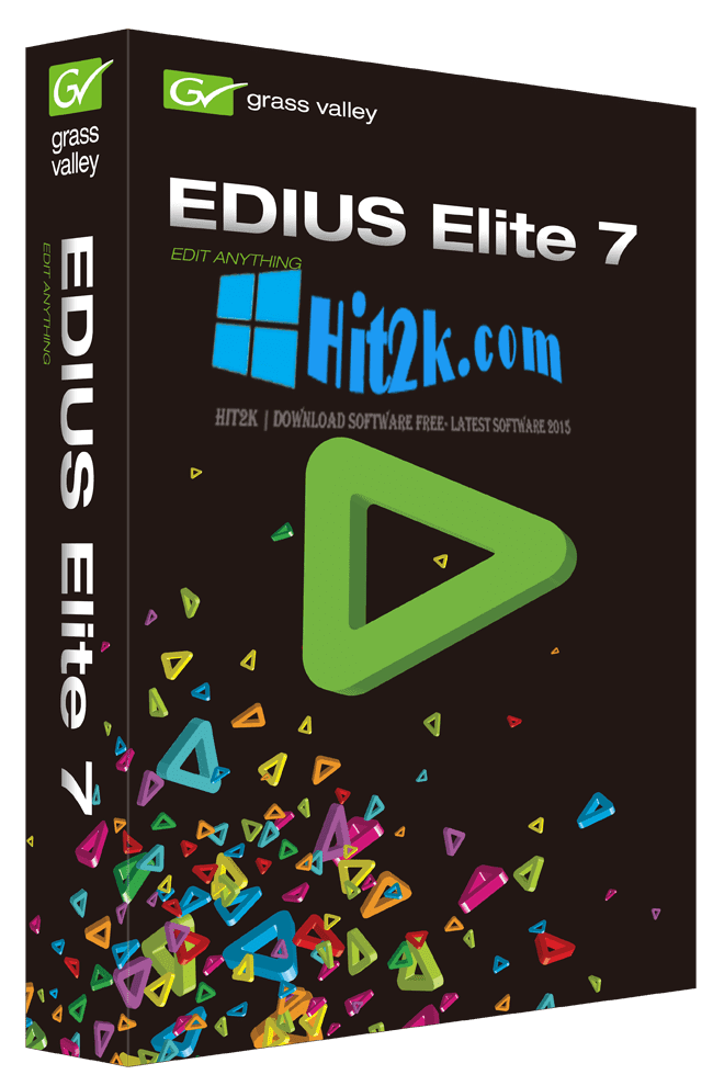 EDIUS Pro 7 Crack 2016 and Serial Key with Patch