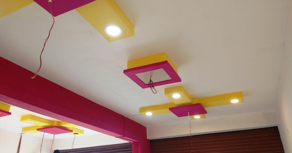 Learn new things simple beautiful color combination for for Office roof ceiling designs
