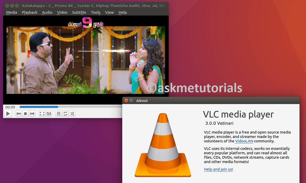 How to Install VLC Media Player 3 0 0 On Linux - askmetutorials