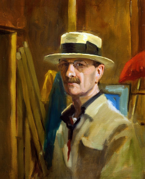 Self Portrait, Ben Lustenhouwer, International Art Gallery, Self Portrait, Art Gallery, Ben Lustenhouwer, Portraits of Painters, Fine arts, Self-Portraits, Painter Ben Lustenhouwer