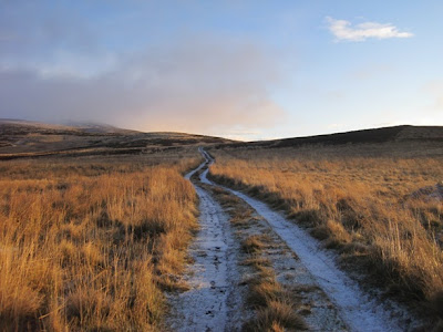 The route up Morven, Deeside, Cairngorms