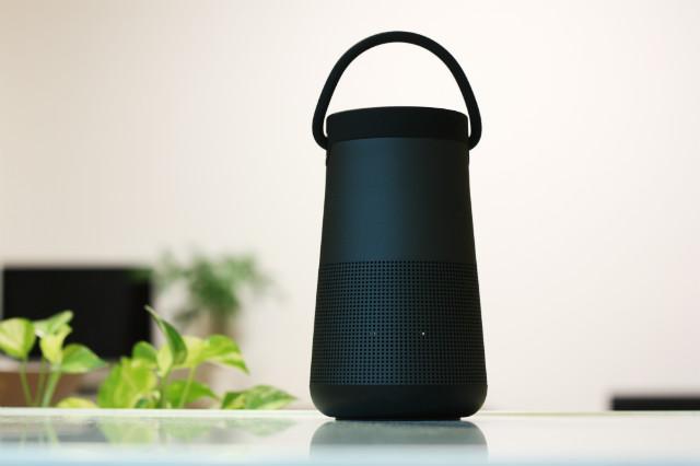 BOSEのBluetoothスピーカー『Sound Link Revolve+』を、音が良すぎて衝動買いした