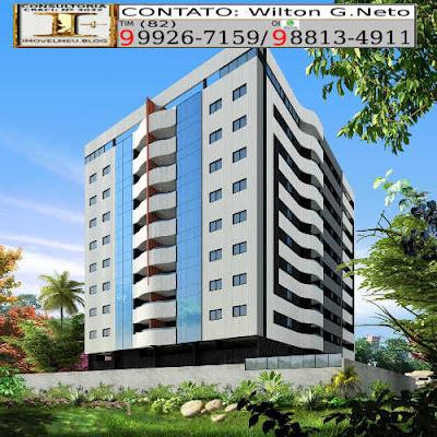 imagem-fachada-totalmente revestida em cerâmica, edifício-Residencial-Mansão-Antônio-Soares.