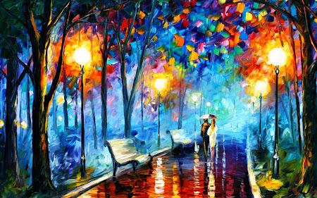 Indah Maruf Lukisan Abstrak