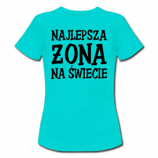 koszulka Najlepsza żona na świecie
