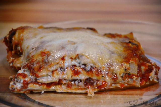 לזניית גבינות cheese lasagna