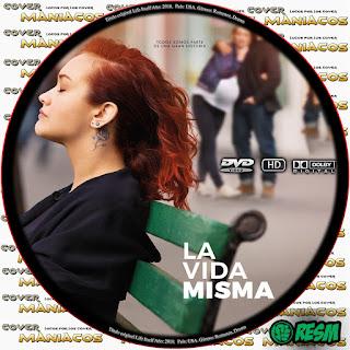 GALLETA LA VIDA MISMA - LIFE ITSELF - 2018 - [COVER-DVD]