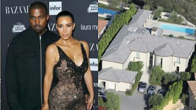 Photos of Kim, Kanye West & Their Bel-Air Mansion