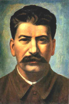 Filonov 'Portrait of Stalin' (1926)