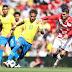 Emissário do Real Madrid esteve acompanhado Neymar no amistoso da Seleção Brasileira
