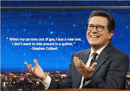 Stephen Colbert Quotes About Life