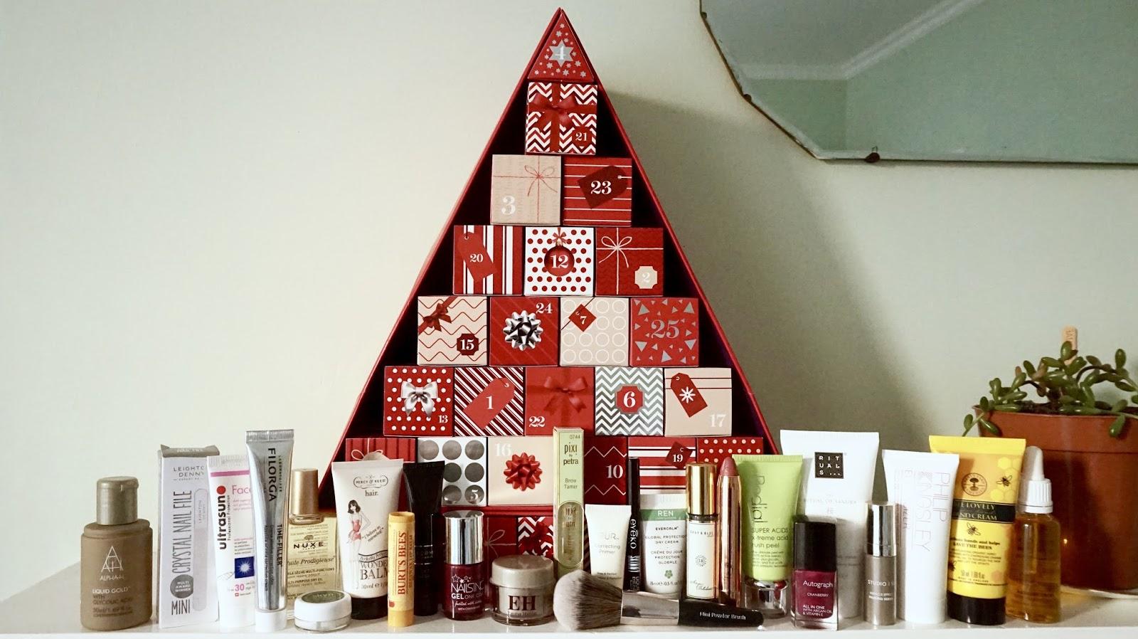 M&S Beauty Advent Calendar Favourites