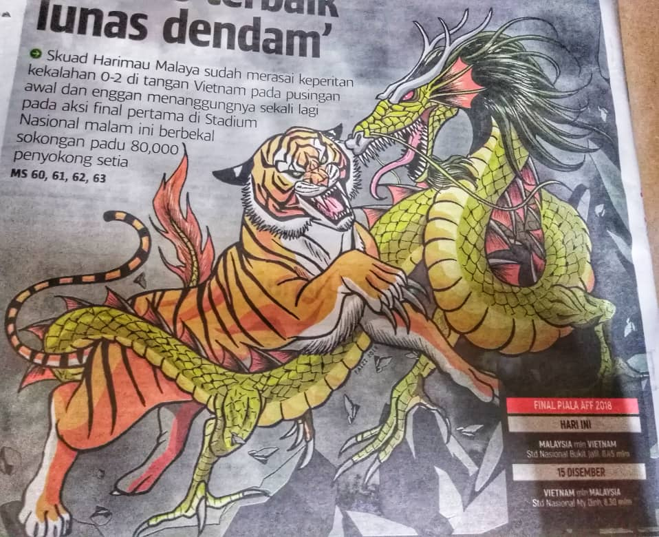 Final AFF Suzuki Cup 2018 Malaysia vs Vietnam malam ni!
