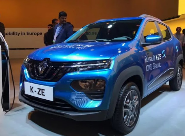 Renault Kwid K-ZE Listrik