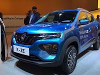 Renault Kwid K-ZE Listrik Harganya Cuma Rp 120 Jutaan