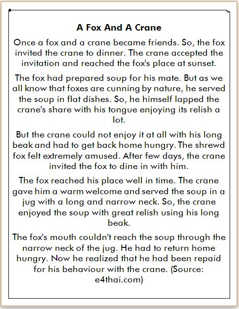 Cerita Bahasa Inggris dan Artinya