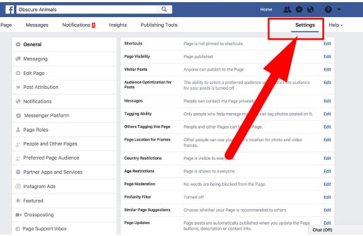 how to delete a page in facebook that i created