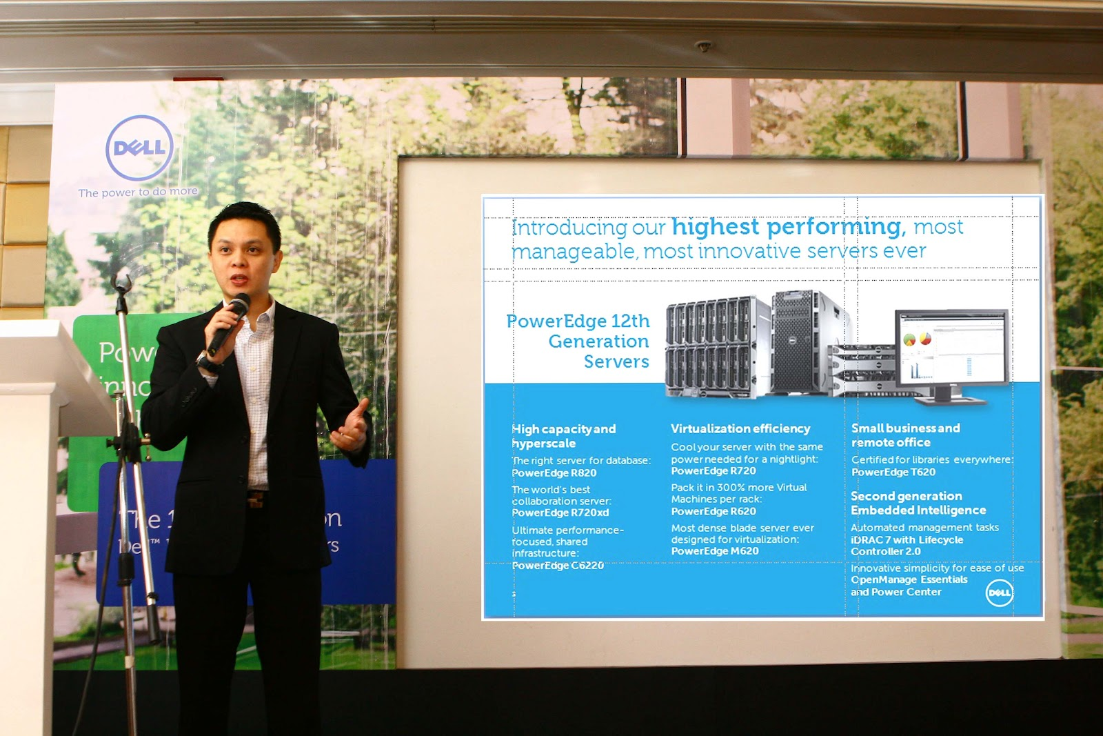 TeamAguas: DELL launched PowerEdge 12th Generation Server