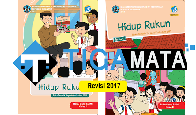 Download Buku K13 Kelas 2 SD Semester 1 Revisi 2017 Pdf