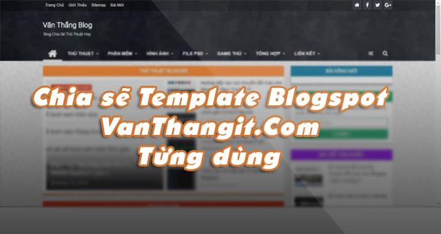 Share template blog từng dùng edit từ MaxaZine