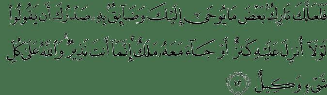 Surat Hud Ayat 12