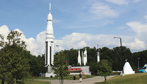 Space Rocket Center Huntsville Alabama
