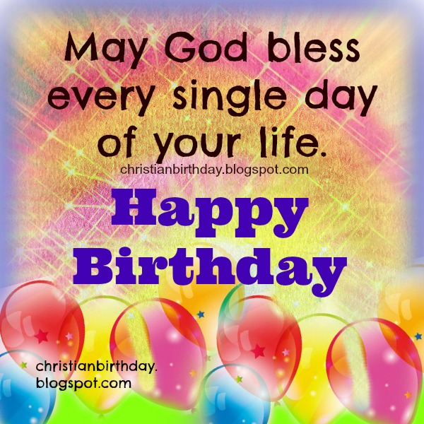 free image christian card bday