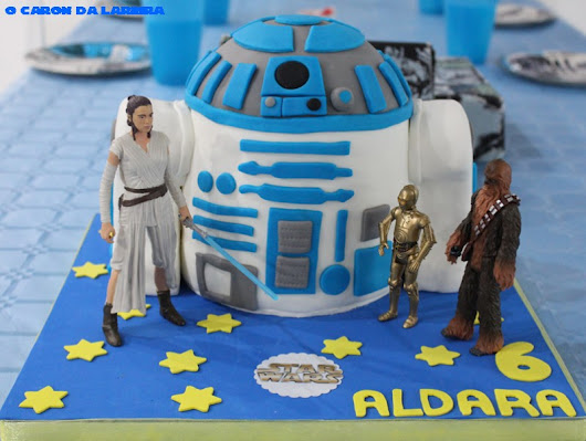 Tarta R2-D2 de STAR WARS
