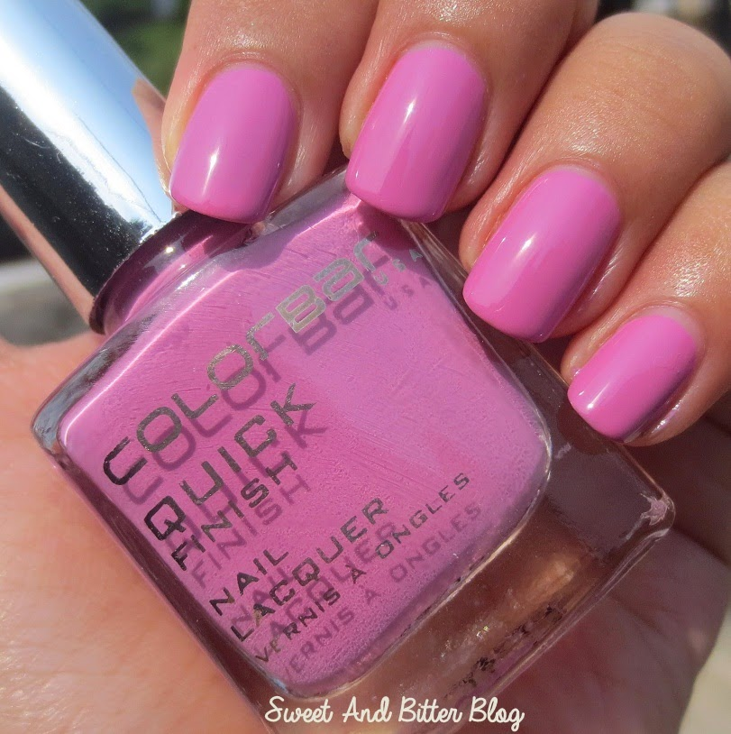Colorbar Mauvizza Quick Finish Nail Lacquer Review Swatch