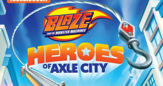 Hawaii Mom Blog Blaze And The Monster Machines Heroes Of
