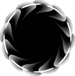 Black Circles: Papers, Labels, Frames or Free Wedding Invitations.