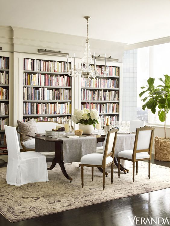 Simple details tgif the gems i found for Dining room library