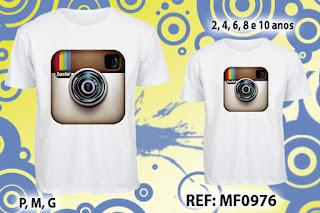 Tal Pai Tal Filho Camisetas Personalizadas Instagram