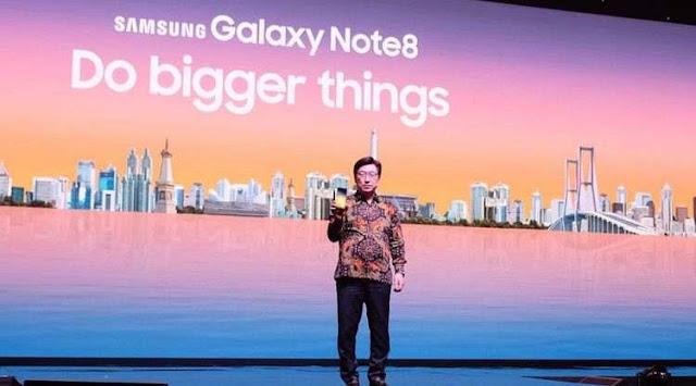 Samsung Galaxy Note 8 Siap Rilis Di Indonesia