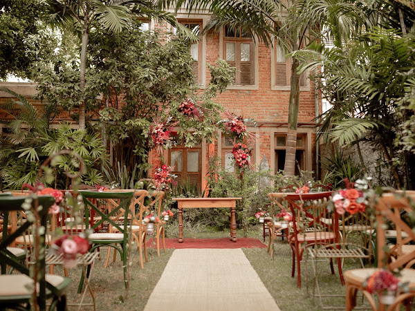 Erika ♥ Daniel : Casamento na Casa Rio Carioca