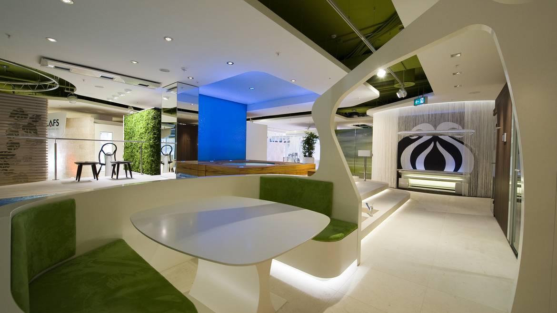 Showroom Interior Design | KLAFS | Zurich | Retail Partners Ltd