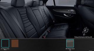 Nội thất Mercedes E300 AMG 2017 nhập khẩu màu Đen 811